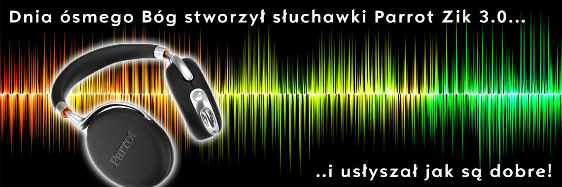 Bezprzewodowe słuchawki Parrot Zik 3.0